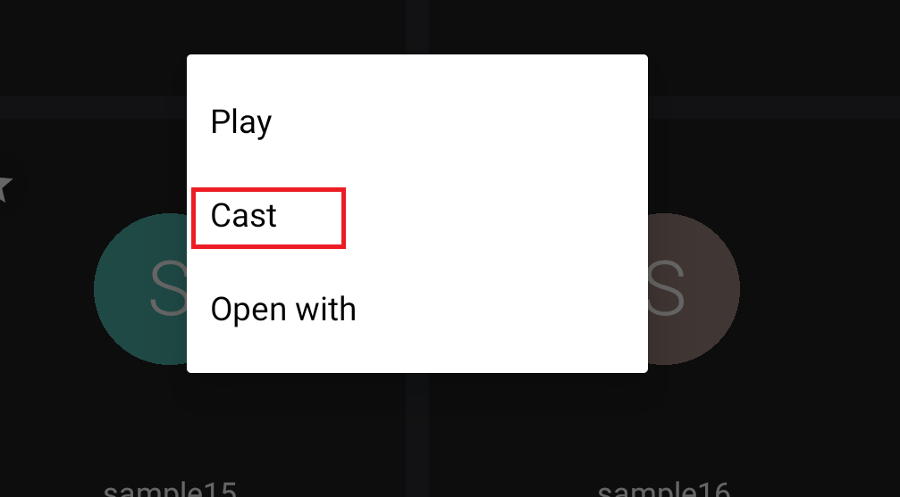 cast GSE IPTV using Chromecast