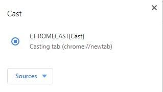 Chromecast for Chrome