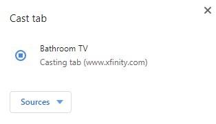 How to Chromecast Xfinity Stream to TV?
