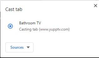 How to Chromecast YuppTV to TV?