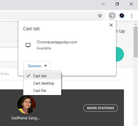 JioSaavn on Chromecast