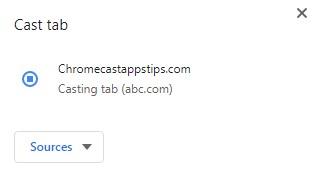 How to Chromecast ABC to TV