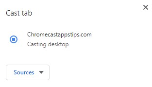 casting desktop