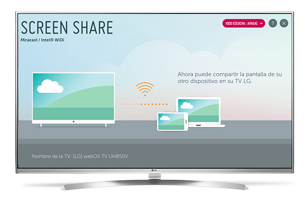LG TV Chromecast
