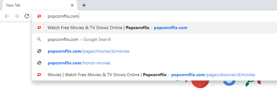 Popcornflix Chromecast