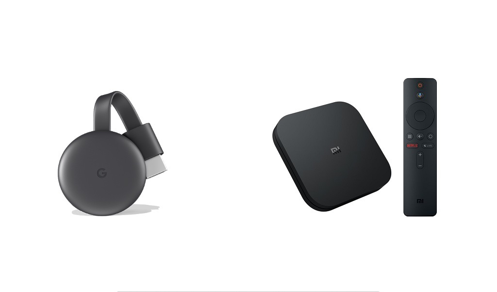 Chromecast vs MI Box – Comparison and Review