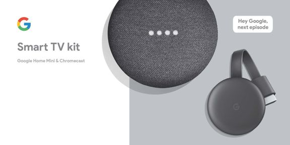 Control it using Google home