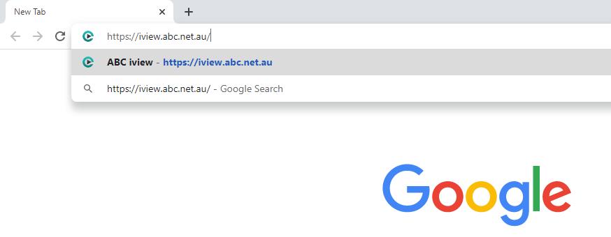 Chromecast ABC iview