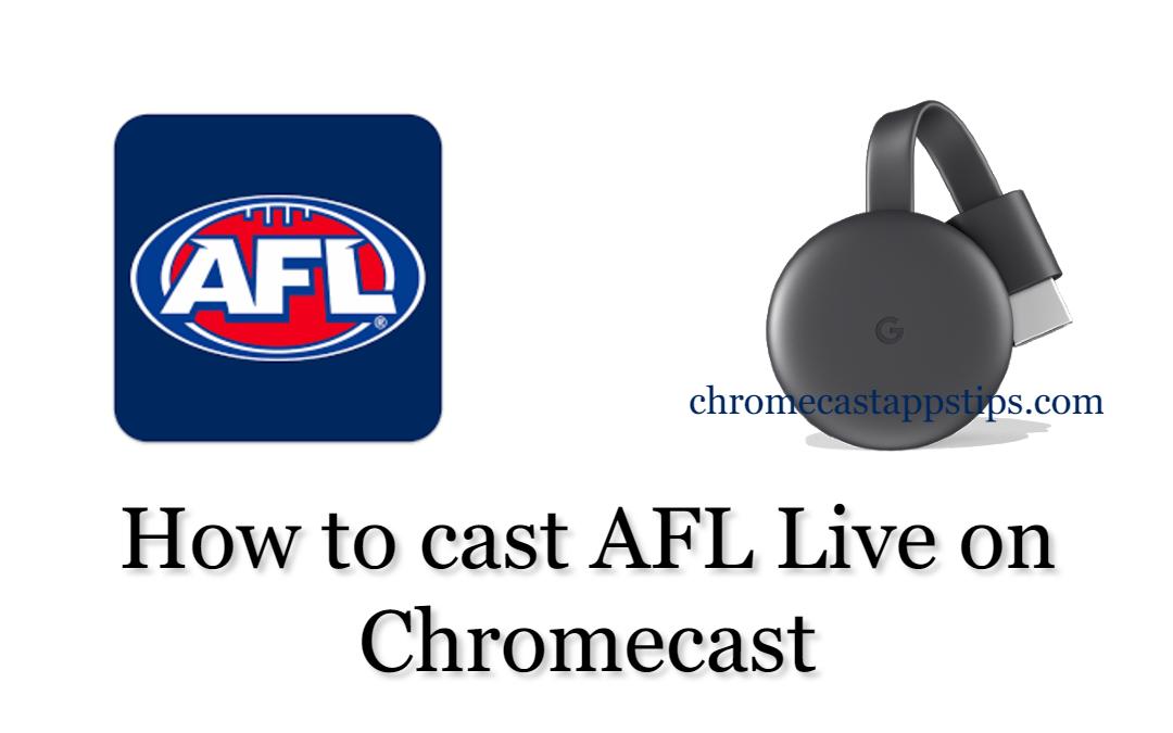 Chromecast AFL Live
