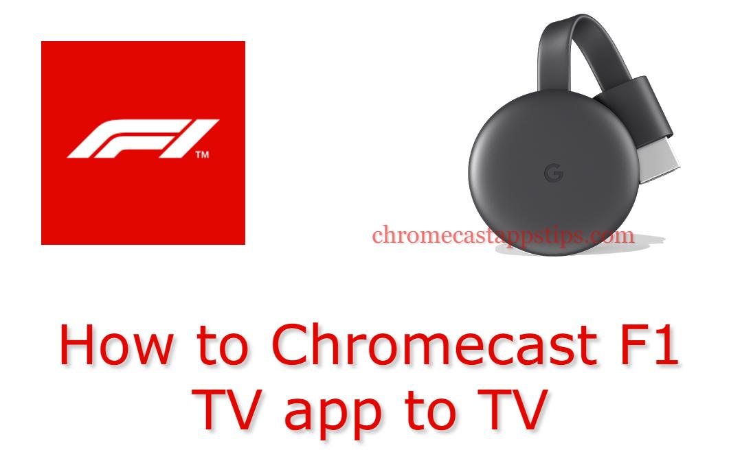 Chromecast F1 TV
