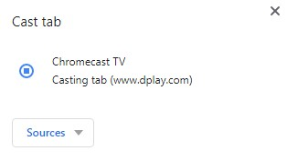 Dplay Chromecast