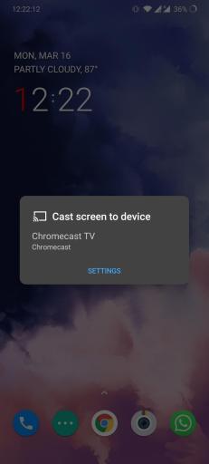 chromecast gotomeeting