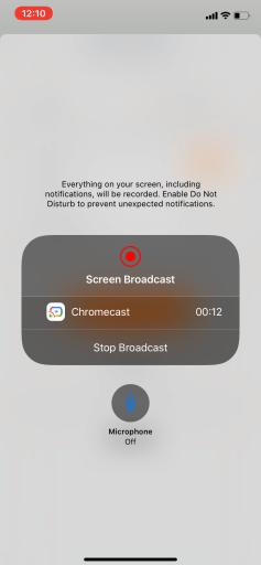 Chromecast Webex