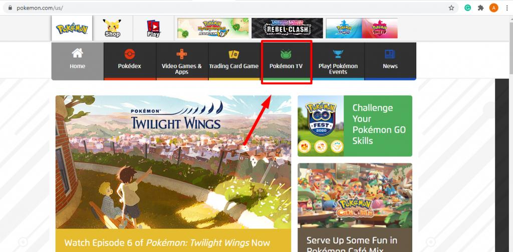 Pokemon tv - How To Chromecast Pokemon TV
