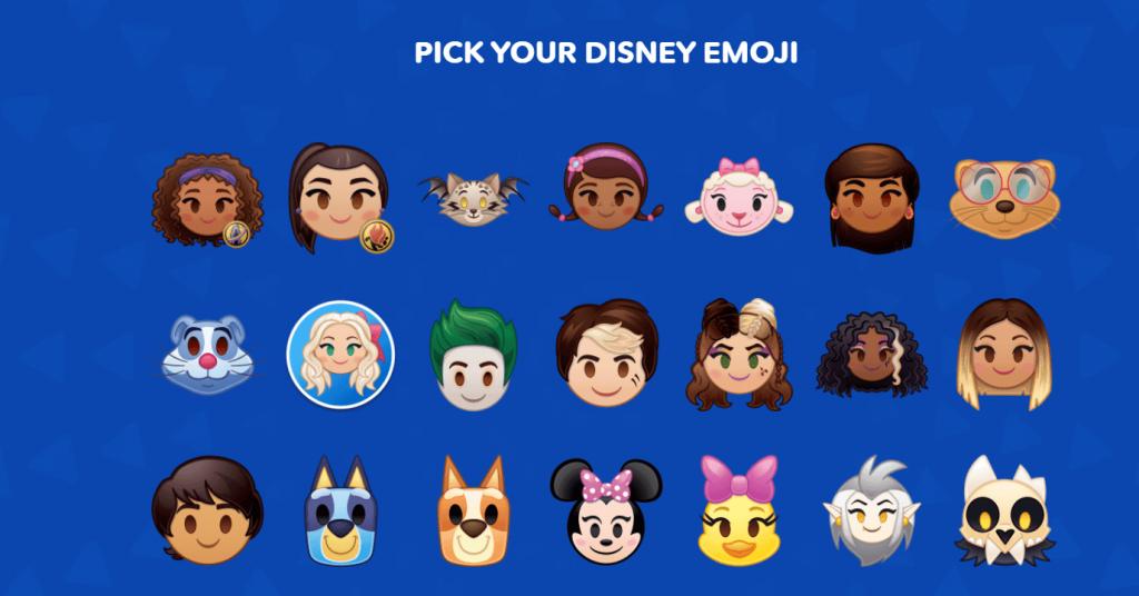 pick emoji