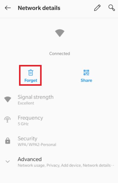 Forget - Chromecast Error 40102