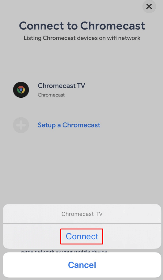 connect - Chromecast JW Player