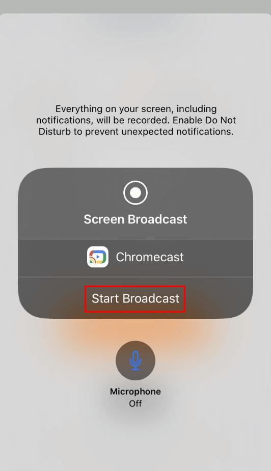 Qello Chromecast - broadcast
