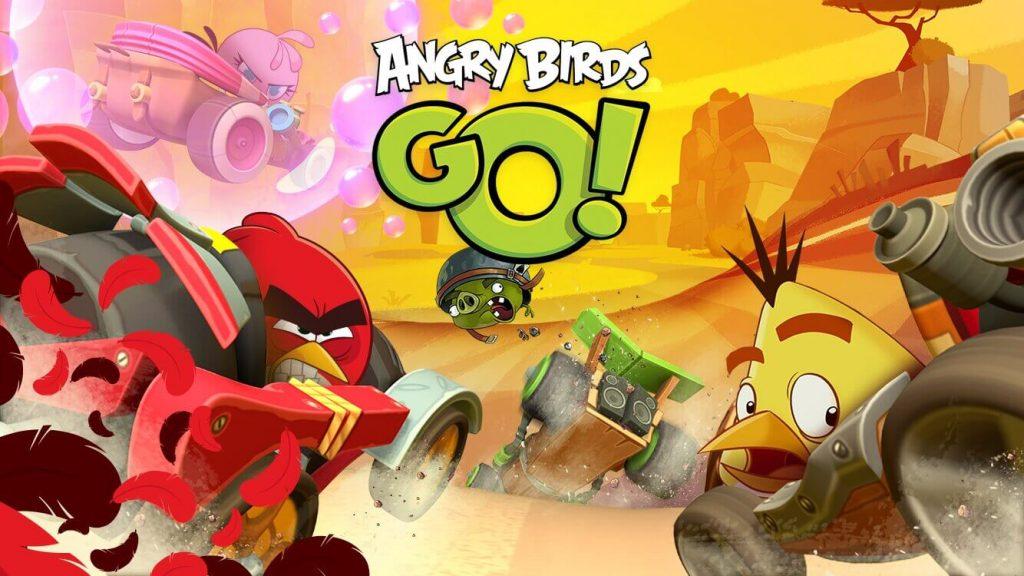 Angry Bird Go - Best Chromecast Games