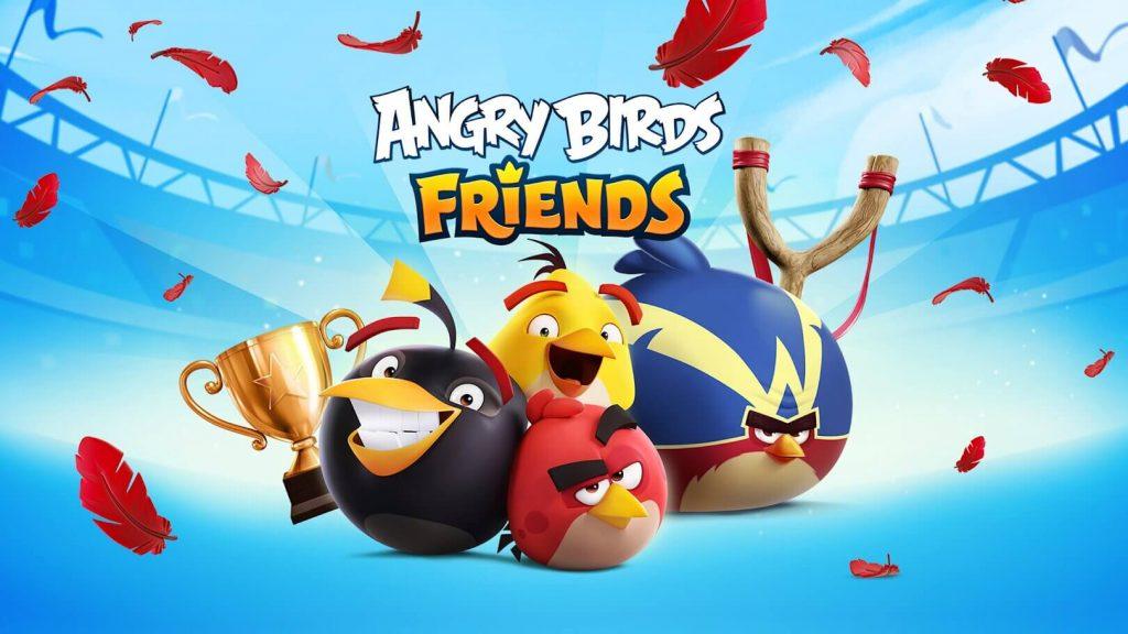 Angry Birds Friends - Best Chromecast Games