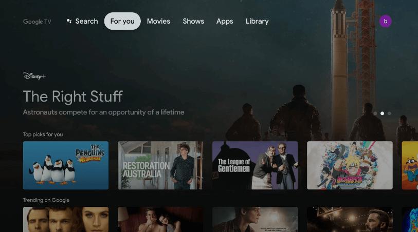 Amazon Music on Google TV