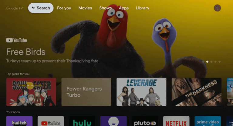 Hulu on Chromecast with Google TV