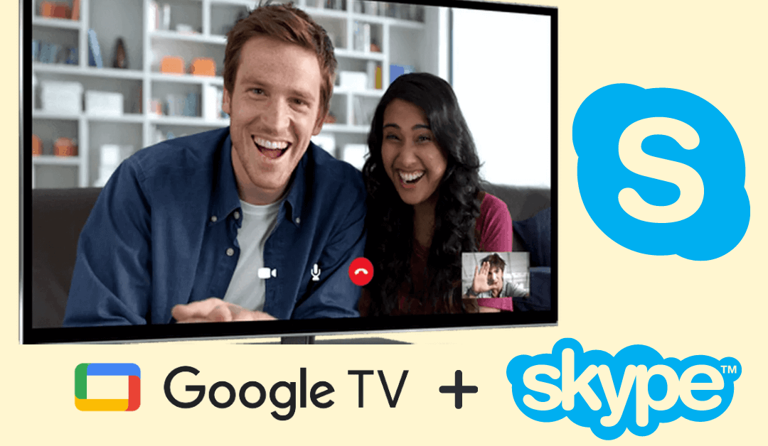 Skype on Google TV