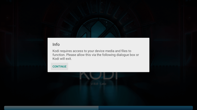 Kodi on Google TV