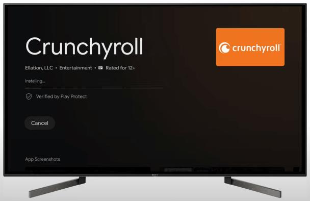 Crunchyroll on Google TV