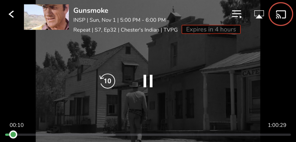 Chromecast Frndly TV Using Smartphone