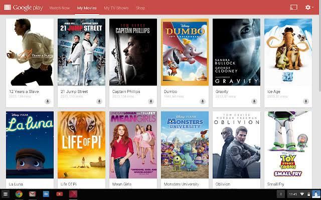 Google Play Movies&TV