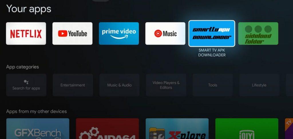 Launch SmartTV  Apk Downloader