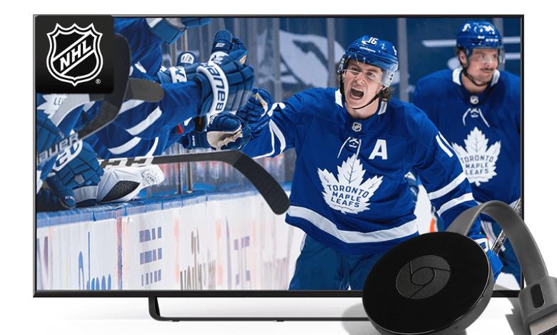 How to Chromecast NHL 2021 Season